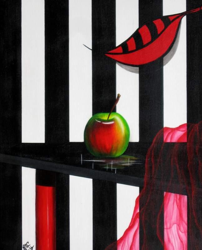 schwarzer tisch von kafi at k nstler kunst und kunstwerke. Black Bedroom Furniture Sets. Home Design Ideas