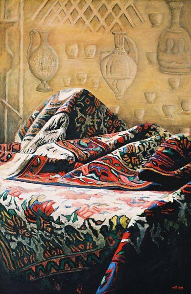 Der Orient Teppich von Ipek art at artistsde  Künstler
