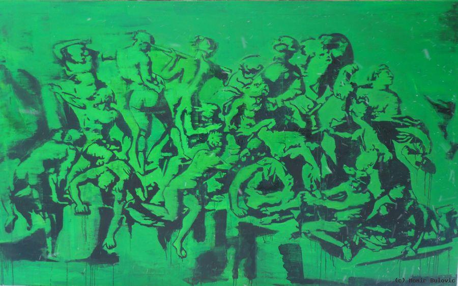 Battle Of Cascina 2012 von Momir Bulovic at artists.de ...