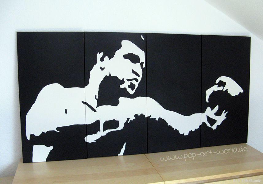 muhammad ali pop art von lukebauer at k nstler kunst und kunstwerke. Black Bedroom Furniture Sets. Home Design Ideas