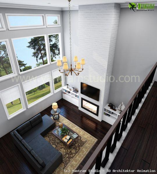 wohnzimmer design von yantram studio 3d architektur. Black Bedroom Furniture Sets. Home Design Ideas