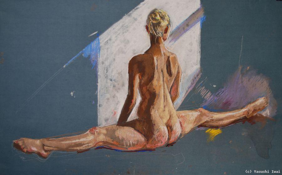 Kunst monatliche Australien nackt